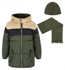 Купить куртка ixtreme by broadway kids, цвет: зеленый/черный ix974205-for