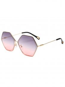 Купить stylish hollow out leg irregular lens sunglasses 372239405