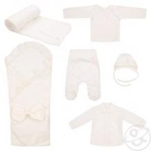Купить комплект на выписку leader kids, цвет: белый 6 предметов ( id 12287890 )