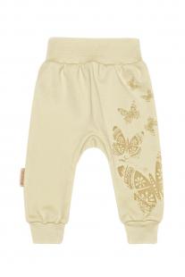 Купить брюки linea di sette, цвет: бежевый 30201