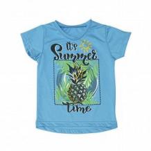 Купить футболка babyglory summer time, цвет: голубой ( id 10534888 )