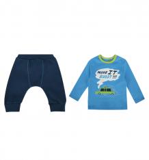 Купить комплект джемпер/брюки bembi, цвет: голубой/синий 06574011137.480