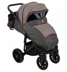 Купить прогулочная коляска camarelo cone, цвет: серый меланж/баклажан ( id 10053489 )