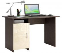 Купить mf master стол письменный милан 8 глянец (основание венге) мст-сдм-08-в