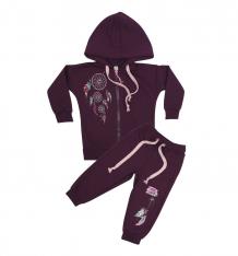 Купить комплект кофта/брюки babyglory sweet dreams, цвет: фиолетовый ( id 8517553 )