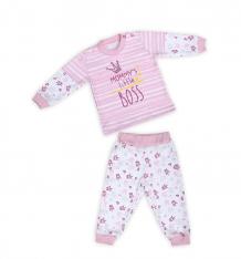 Купить комплект кофта/ползунки babyglory little boss, цвет: розовый ( id 10335818 )
