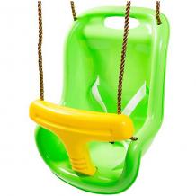 Купить качели 2 в1 kett-up, зелёно-жёлтые ( id 10248465 )
