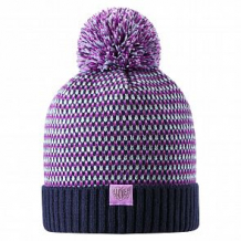 Купить шапка lassie neida, цвет: синий ( id 10857032 )