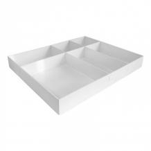 Купить attache лоток вложение в бокс или ящик стола 6 отделений 40х255х315 мм 913406
