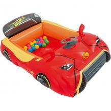 """Купить игровой центр bestway hot wheels """"машина"""" с 25 шариками ( id 5486977 )"""