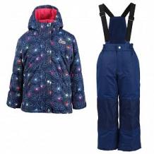Купить комплект куртка/полукомбинезон salve, цвет: т.синий/малиновый ( id 10676003 )
