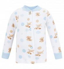 Купить кофта чудесные одежки собачки и горох, цвет: белый/голубой ( id 5778337 )
