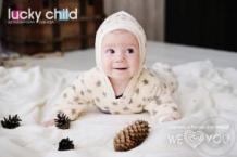 Комбинезон Lucky Child, цвет: бежевый ( ID 528832 )