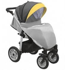 Купить прогулочная коляска camarelo eos, цвет: серый-желтый ( id 9805923 )