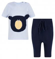 Купить комплект футболка/шорты aga bear, цвет: голубой/синий ( id 8225413 )