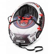 Купить тюбинг с сиденьем small rider snow cars 3 lx, красные ( id 9578791 )