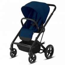 Купить прогулочная коляска cybex balios s lux blk navy blue, темно-синий cybex 997162211