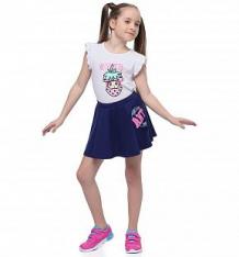 Купить юбка anta сoldplay, цвет: синий ( id 10304204 )