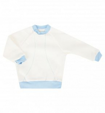 Купить кофта бамбук, цвет: белый/голубой ( id 7477591 )