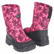 Купить сапоги kuoma putkivarsi pink owl, цвет: розовый ( id 9596061 )
