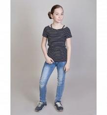 Купить джинсы luminoso волшебный мир, цвет: голубой ( id 10338179 )