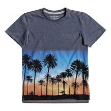 Купить футболка детская quiksilver mokuforestboy vintage indigo heath синий ( id 1204418 )