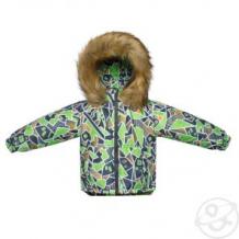 Купить куртка arctic kids, цвет: салатовый ( id 11309624 )