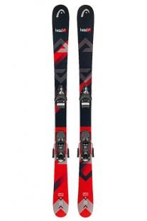 Купить горные лыжи head the junior caddy black/orange черный,красный 1191525