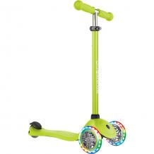 Купить трехколесный самокат globber primo lights, зеленый ( id 8304688 )