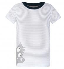 Купить футболка kiki kids пушистик, цвет: серый ( id 8164027 )