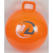 Купить мяч-попрыгун z-sports с ручкой, 45см, оранжевый