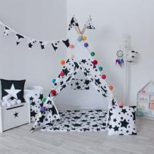 Купить vamvigvam вигвам black stars с окном и карманом vv010313