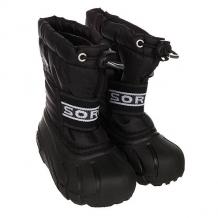 Купить сапоги зимние детские sorel childrens cub black черный 1164872