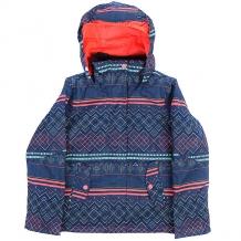Купить куртка утепленная детская roxy jet girl sodalite blue мультиколор ( id 1185335 )