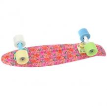 Купить скейт мини круизер пластборды union space 6 x 22.5 (57.2 см) мультиколор 1182641