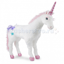 Купить мягкая игрушка melissa & doug единорог 8801 80 см 8801