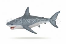 Купить papo игровая реалистичная фигурка белая акула 56002