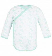 Купить боди чудесные одежки салатовые собачки, цвет: белый/салатовый ( id 5778145 )