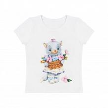 Купить футболка роскошь с пеленок киска-принцесса, цвет: молочный ( id 11378728 )