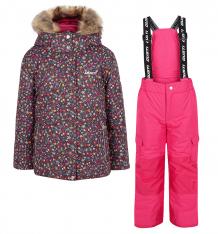 Купить комплект куртка/полукомбинезон gusti boutique, цвет: бордовый ( id 6495763 )