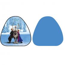 """Купить ледянка 1toy """"disney princess"""" холодное сердце, треугольная, 52х50 см 7241963"""