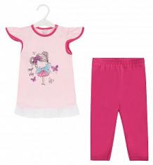 Купить комплект футболка/бриджи koala magiczna wrozka, цвет: розовый ( id 8492023 )