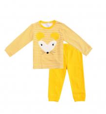 Купить комплект джемпер/брюки play today золотой сад, цвет: желтый/белый ( id 9774873 )
