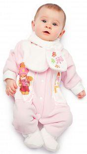 Купить комбинезон babyglory художник, цвет: розовый ( id 8386159 )