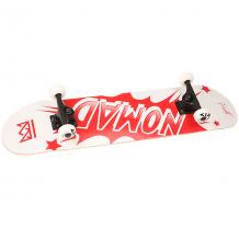 Купить скейтборд в сборе nomad banger complete medium red 31.75 x c красный