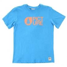 Футболка детская Picture Organic Basement Blue синий ( ID 1154380 )