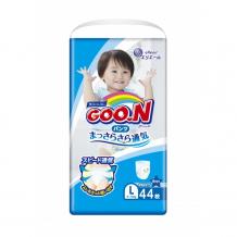 Купить goon подгузники-трусики для мальчиков l (9-14 кг) 44 шт. 753462/753712/853627