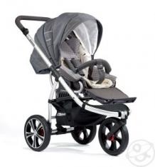 Прогулочная коляска Gesslein F3 Air+ (серебристая рама), цвет: серый ( ID 7546087 )