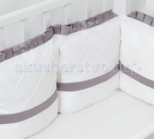 Купить бортик в кроватку colibri&lilly graphite 120х60 см