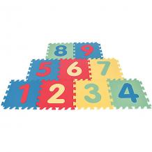 Купить игровой коврик 9-ти секционный с цифрами, 33х33х0,7 см 11192003